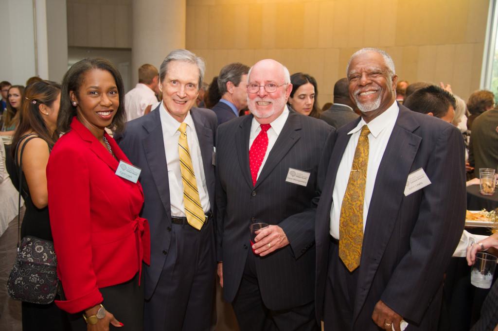Carol Lewis, Mayor Hofheinz, Steve Montgomery, John Lewis
