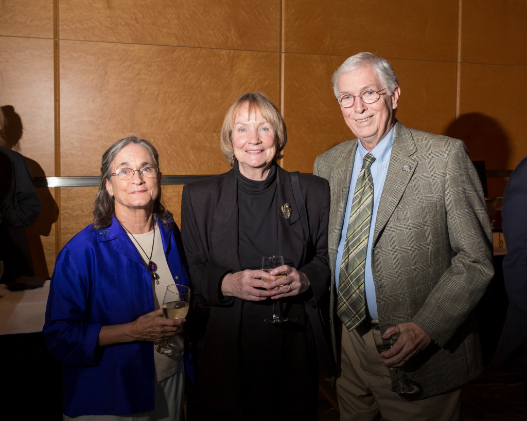 Jody Blazek, Marilyn Lewis, Dan Barnum